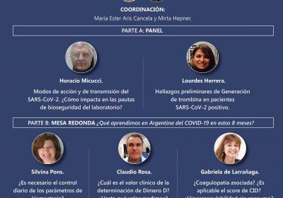 6º Reunión Científica: COVID-19: Experiencias de los Laboratorios de Hemostasia y su Relación con la Clínica.