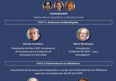 7º Reunión Científica: Actualización de Pautas de Laboratorio y Guías Diagnósticas en SAF y Enfermedad de Von Willebrand