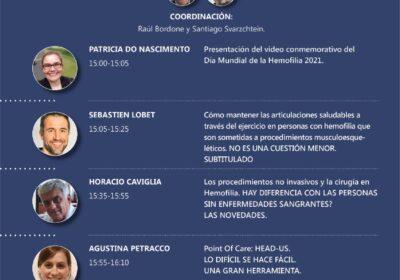 2º Reunión Científica 2021: ¨Post-Congreso Musculoesquelético de la Federación Mundial de la Hemofilia (WFH)¨