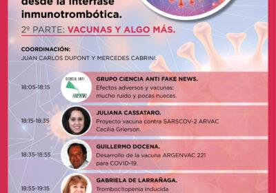 Webinar: 29 de julio 2021. 18 hs. (Buenos Aires)