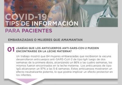 COVID-19 Tips de Información para Pacientes